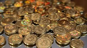 Virtual Currency - each coin has a key code which stands for one bitcoin
